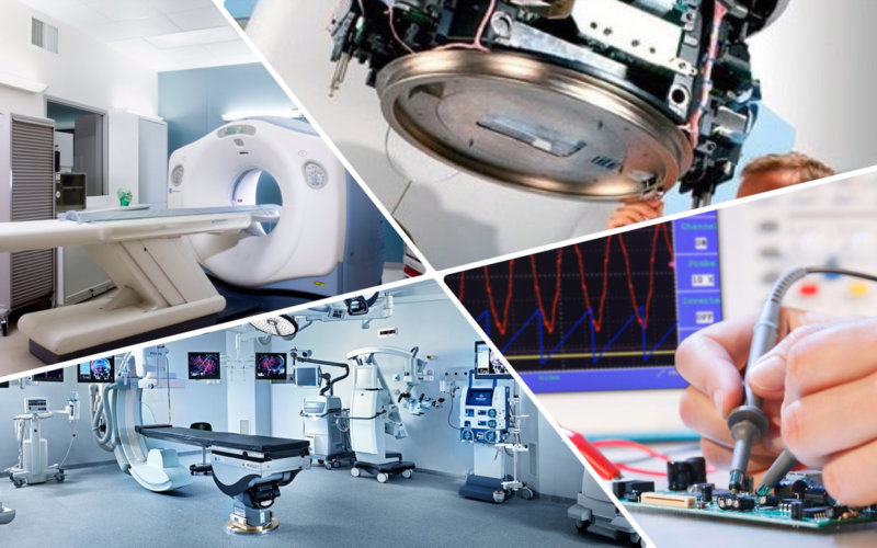 Техническое обслуживание медицинского оборудования и техники
